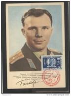 RUSSIA USSR Private Envelope LITHUANIA VILNIUS VNO-klub-034 Space Exploration Gagarin - 1923-1991 USSR