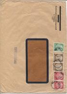 Sudetenland Troppau Provisorischer Stempel Zensurbrief Versicherungsanstalt. 3x Kleinkreisiger Provisorischer Stempel. - Occupation 1938-45