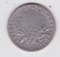 Semeuse - G. 50 Céntimos