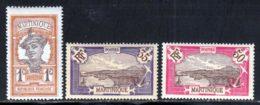 Martinique 1908 Yvert 61 - 70 - 73 ** TB - Unused Stamps