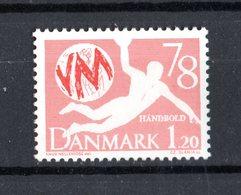 DANIMARCA :  Mondiali Di  Pallamano  -  1 Val. MNH**   Del  19.01.1978 - Pallamano