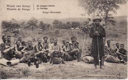 250513Mission De Kangu, Le Portage (petite Déchirure, Pli Droite Sup. ) - Congo Belga - Altri