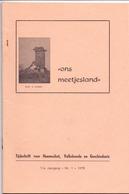 Tijdschrift Geschiedenis, Volkskunde Ons Meetjesland - Artikels Kaprijke, Sleidinge, Eeklo, Watervliet - Jaargang 1978 - Geschiedenis