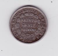 20 Centavos 1975 - Bolivia