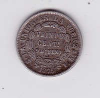 20 Centavos 1975 - Bolivie
