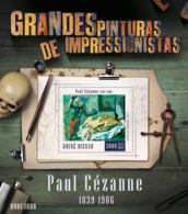 Guinea Bissau  2015  Paintings Of  Paul Cezanne - Guinea-Bissau