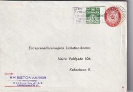DANEMARK 1966     ENTIER POSTAL/GANZSACHE/POSTAL STATIONERY LETTRE DE COPENHAGUE - Interi Postali
