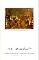 Tijdschrift Geschiedenis, Volkskunde Ons Meetjesland - Artikels Wachtebeke, Zomergem, Adegem, Eeklo - Jaargang 1981 - Geschiedenis