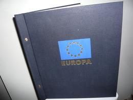 ALBUM DAVO + FEUILLES DAVO LUXE EUROPA 1981/90  (vol. II) - Reliures Et Feuilles