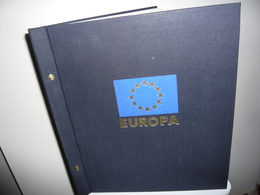 ALBUM DAVO + FEUILLES DAVO LUXE EUROPA 1981/90  (vol. II) - Album & Raccoglitori