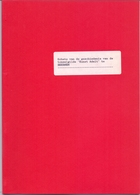 Tijdschrift - Geschiedenis Van De Toneelgilde Kunst Adelt Te Beernem - Door Anton Van Severen - Geschiedenis