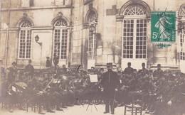 54-Toul Musique Du 153 ème R.I Jardin De L'Hôtel De Ville 1912 - Barracks