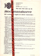 Pub Reclame - Zoo Park , Visvijvers, Recreatieoord - Stockmanshoeve - Damme Sijsele - Publicités