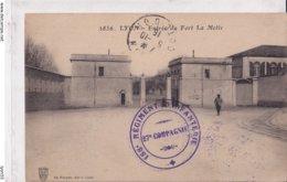 Lyon Entrée Du Fort De La Motte (avec Tampon 158e Régiment D'infanterie 27e Compagnie) - Other