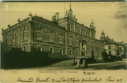 CZECH REPUBLIC - LIBEREC / REICHENBERG I.B. - TURNHALLE - EDIT W. HOFFERMANN A.G. 1900s ( BG6115) - Tsjechië