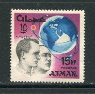 AJMAN- Timbre Oblitéré - Espacio