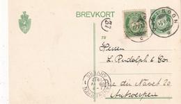 NORVEGE  1912       ENTIER POSTAL/GANZSACHE/POSTAL STATIONERY CARTE DE VIK I SOGN - Ganzsachen