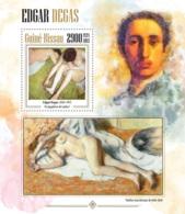 Guinea Bissau  2013  Paintings Of  Edgar Degas - Guinea-Bissau