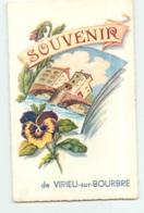 VIRIEU Sur BOURBRE - SOUVENIR - TBE - 2 Scans - Virieu