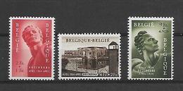 België  N° 943/945  Xx Postfris  Cote 125 Euro - Belgien