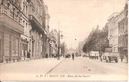 ROUBAIX (59) Rue De La Gare (Belle Animation , Camion) - Roubaix