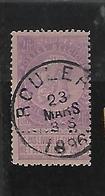 België  N°66  Cote 65 Euro - 1893-1900 Schmaler Bart
