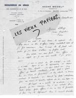 91 - Essonne - BRUNOY - Facture BESEL - Représentant De Menuiserie En Séries - 1941 - REF 125C - France