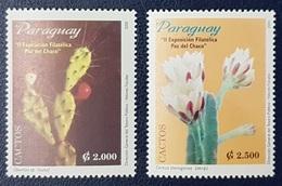 PARAGUAY 2001 2nd Bolivian Paraguayan Stamp Exhibition LA PAZ CACTUS CACTI - MNH - Paraguay