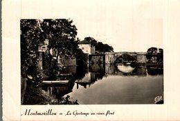 86 MONTMORILLON  LA GARTEMPE AU VIEUX PONT - Montmorillon