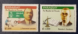 PARAGUAY 2001 International Teachers Day - MNH - Paraguay
