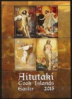 Aitutaki 2015 Yvertn° Bloc 106 *** MNH Cote 15 € Easter Pasen Pâques La Résurrection Murillo E.a. - Aitutaki