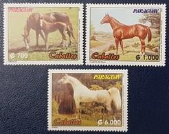 PARAGUAY 2002 HORSES HORSE CHEVAL CHEVAUX MNH - Paraguay