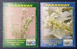 PARAGUAY 2002 100th Anniv. Pan American Health Organization Medicinal Plants MNH - Paraguay