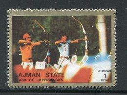 AJMAN- Timbre Oblitéré - Archery
