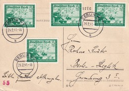 ALLEMAGNE 1941 CARTE DE BERLIN - Germany