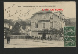 25 MOUILLERE BESANCON - Hôtel Restaurant PERNOD - Other Municipalities