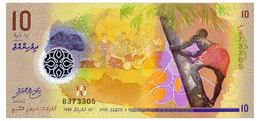MALDIVES 10 RUFIYAA 2015 Pick 26 Unc - Maldives