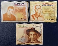 PARAGUAY 2003 Famous Artists Personajes Popular Literature MNH - Paraguay
