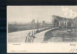 Brielle Havenhoofd 1903 - Grootrond Ridderkerk / Oudenhoorn - Brielle