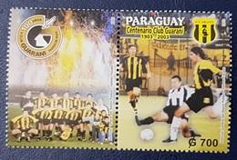 PARAGUAY 2003 100th Anniversary Soccer Football Association Guarani Asuncion MNH - Paraguay