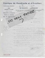 93 - Seine-st-denis - BOBIGNY - Facture FROUIN - Bois, Menuiserie - 1930 - REF 125C - 1900 – 1949