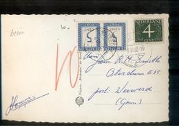 Port Combi Voorzijde Harderwijk Infanterieschool Kantine - Postal History