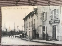 ARNAS VILLENEUVE 01 - Route De Saint Trivier - Gendarmerie - Francia