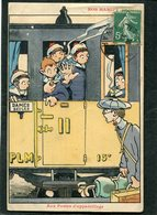 CPA - Illustration Gervèse - NOS MARINS - Aux Postes D'appareillage - Krieg