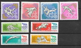 Mongolie  N° 171 à 178 Jeux Olympiques De Rome  Neufs * *  TB  = MNH  VF   Soldé  Le Moins Cher Du Site ! ! !1 - Summer 1960: Rome