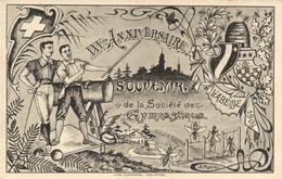 Souvenir De La Société De Gymnastique - XXVme Anniversaire - à Identifier - Francia