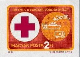 Hongrie 1981 Red Cross Croix Rouge Imperf MNH - Premio Nobel