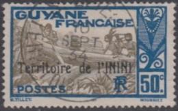 Inini (Territoire De L') - St-Elie Sur N° 12 (YT) N° 10 (AM). Oblitération De 1934. - Gebraucht
