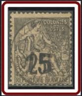 Madagascar 1889-1906 - N° 05 (YT) N° 5 (AM) Oblitéré. - Oblitérés