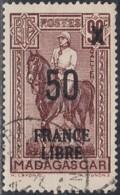Madagascar 1940-1960 - N° 258 (YT) N° 275 (AM) Oblitéré. - Madagascar (1889-1960)